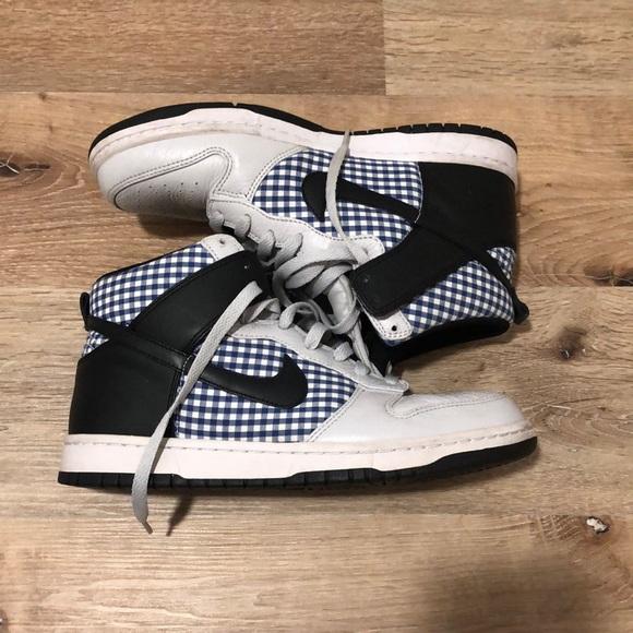 Nike Shoes | Checkered Nike Dunks High